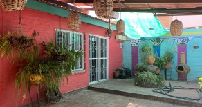 CASA CHAVA ( Ajijic West ) Furnished,  Great Location, Nice mexican colors in the walls, 2 Bedrooms, 2.5 Bathrooms, Living Room, Dining Room, Kitchen, Laundry, 2 screned Patios, Automatic Garage for 2 cars. $750.00 USD per month includes Gardener. AVAILABLE FEB 15,2021.