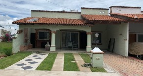 CASA JACARANDAS # 49 CONDOMINIO NUEVO CHAPALA IN CHAPALA. Gated, Furnished, 2 Bedrooms, TV Room, 2 Bathrooms, Living Room, Dining Room, Laundry, Front Covered Terraza. $800.00 USD per month includes Assoc Fee and gardener. AVAILABLE SEPTEMBER 15TH LONG TERM PREFERABLE.